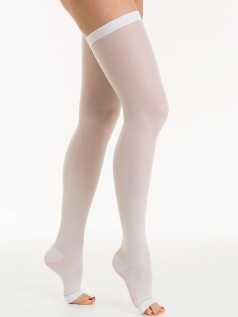 Релаксан чулки антиэмболические откр. носок 18-23мм К1 р.M белый(М0370А) купить в Москве по цене от 1100 рублей
