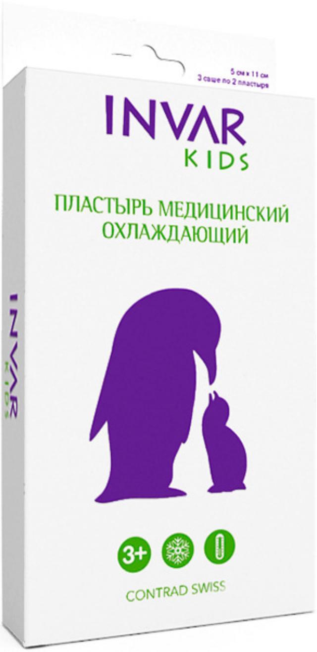 Инвар Кидс Пластырь охлажда. 5х11см №6 купить в Москве по цене от 0 рублей