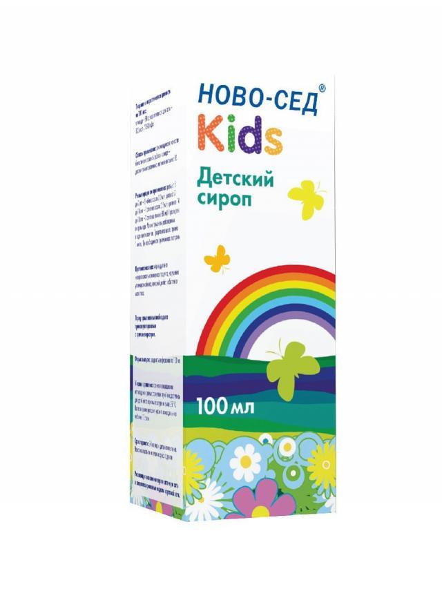 Ново-Сед Кидс сироп 100мл купить в Москве по цене от 249 рублей