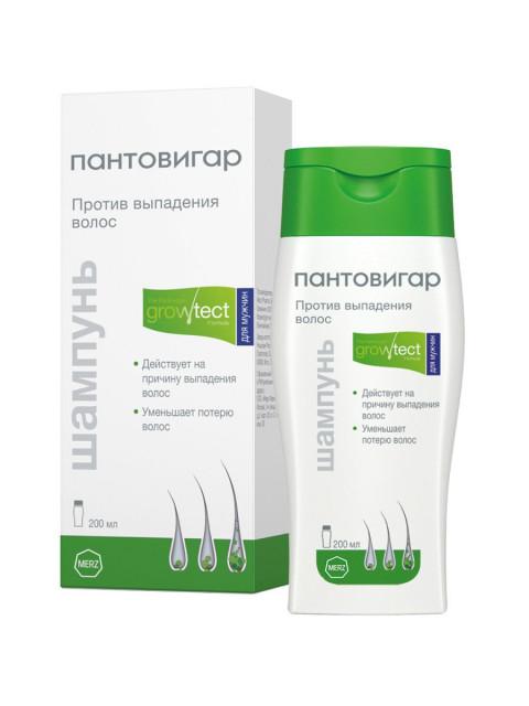 Пантовигар шампунь против выпад. волос для мужчин 200мл купить в Москве по цене от 707 рублей