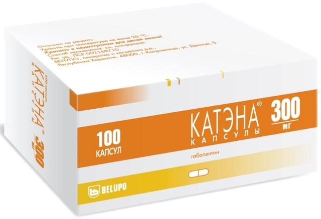 Катэна капсулы 300мг №100 купить в Москве по цене от 952 рублей