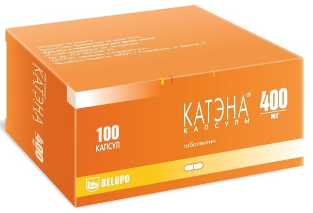 Катэна капсулы 400мг №100 купить в Москве по цене от 1090 рублей