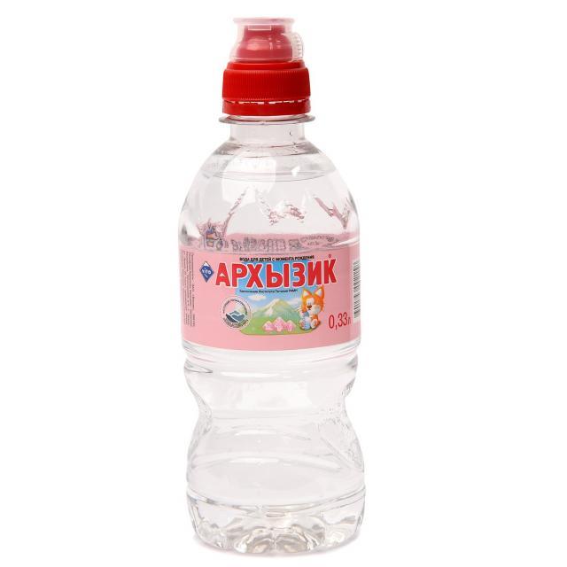 Вода питьевая для детей Архызик Спорт 0,33л купить в Москве по цене от 0 рублей