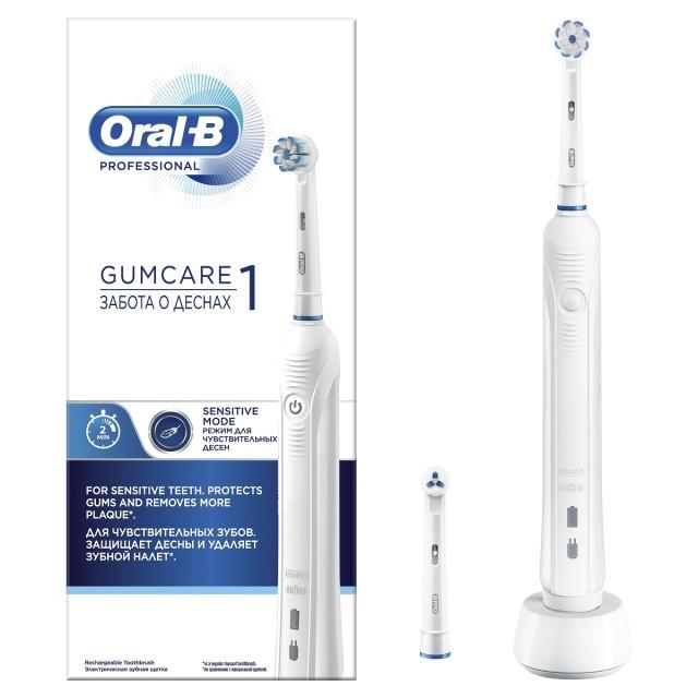 Орал Би зубная щетка электрическая Pro 1/D16.523.3U Pharma т.3765 купить в Москве по цене от 3770 рублей