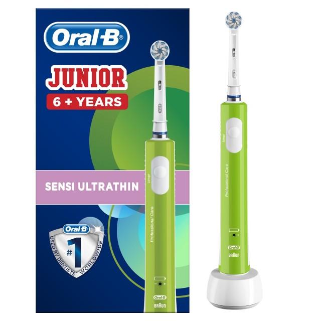 Орал Би зубная щетка электрическая Джуниор D16.513.1 купить в Москве по цене от 4640 рублей