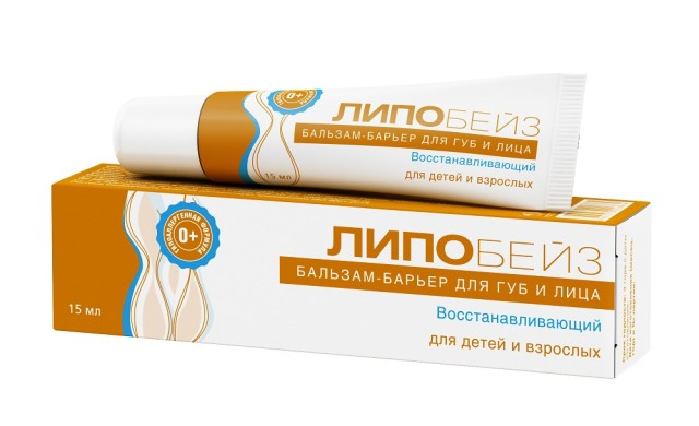 Липобейз бальзам для губ и лица восстанавливающий 15мл купить в Москве по цене от 205 рублей