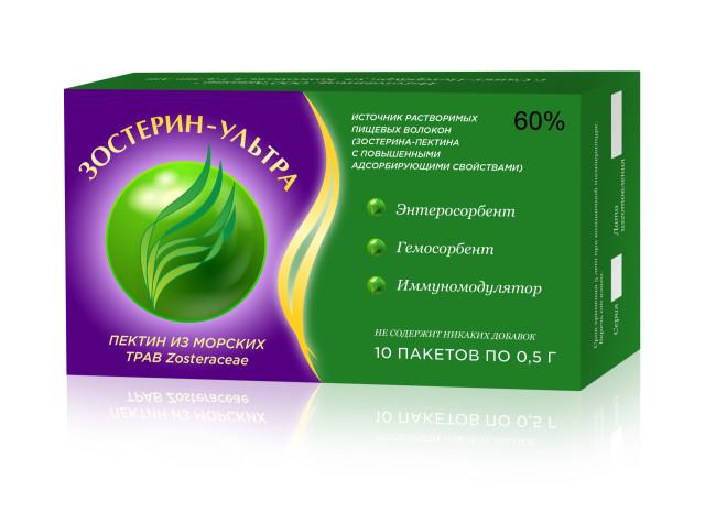 Зостерин Ультра порошок 60% 0,5г №10 купить в Москве по цене от 463 рублей