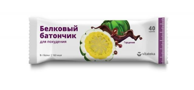 Витатека батончик белков. д/похудения 40г купить в Москве по цене от 85 рублей