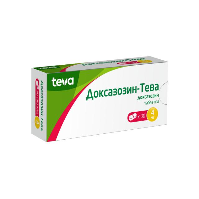 Доксазозин таблетки 4мг №30 купить в Москве по цене от 272 рублей