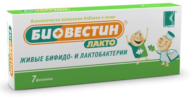 Биовестин-лакто капли внутрь 12мл купить в Москве по цене от 0 рублей