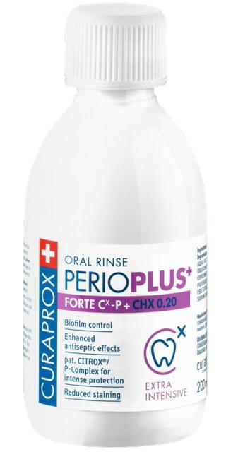 Курапрокс ополаскиватель для полости рта Перио Плюс Форте 0,2% хлоргексидин 200мл купить в Москве по цене от 1180 рублей