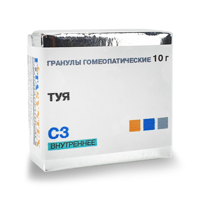 Туя Окциденталис (Туя) С-3 гранулы 10г купить в Москве по цене от 172 рублей