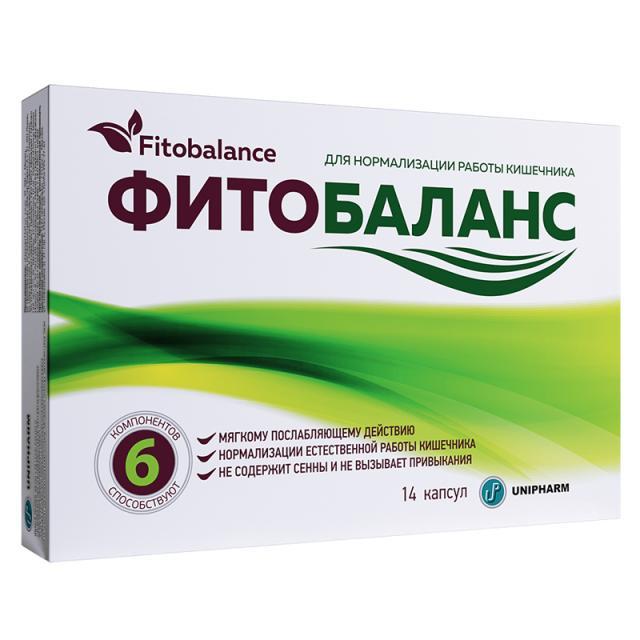 Фитобаланс капсулы №14 купить в Москве по цене от 283 рублей