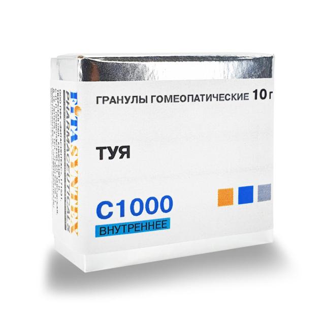 Туя Окциденталис (Туя) С-1000 гранулы 10г купить в Москве по цене от 172 рублей