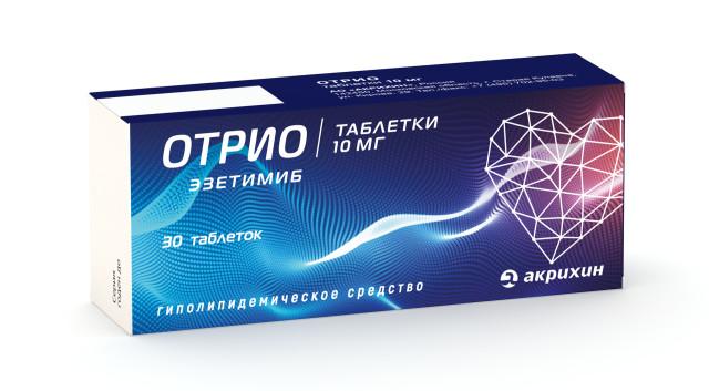 Отрио таблетки 10мг №30 купить в Москве по цене от 560 рублей