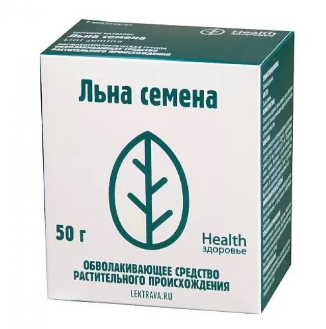 Льна семена Здоровье 100г купить в Москве по цене от 57 рублей