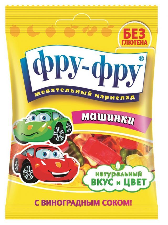 Фру-Фру мармелад жевательные машинки 30г купить в Москве по цене от 20 рублей