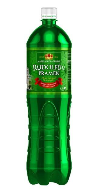 Вода минеральная Рудольфов Прамен 1,5л (газ) купить в Москве по цене от 268 рублей