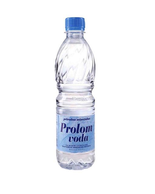 Вода минеральная Пролом 0,5л купить в Москве по цене от 112 рублей