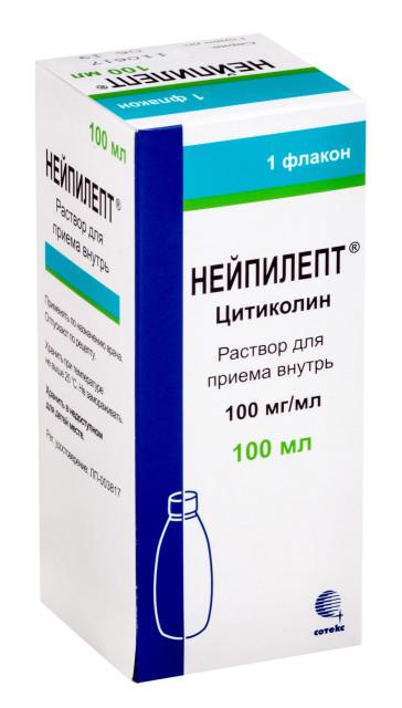 Нейпилепт раствор для внутреннего применения 100мг/мл 100мл купить в Москве по цене от 1100 рублей