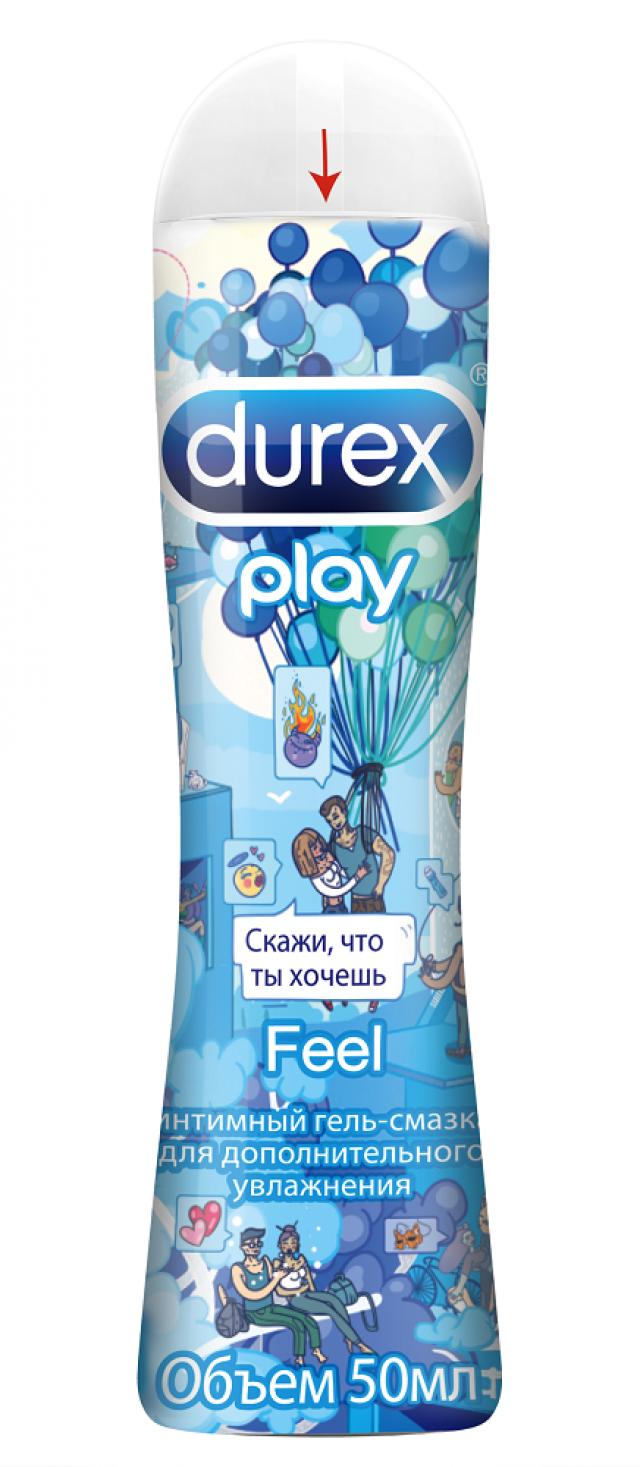 Дюрекс гель-смазка Play feel Дудл 50мл купить в Москве по цене от 307 рублей
