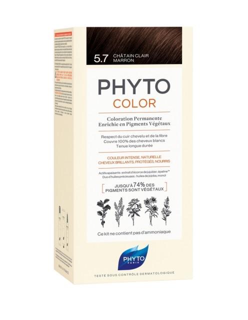 Фитосольба Фитоколор краска для волос т.5.7 светлый каштан купить в Москве по цене от 1620 рублей