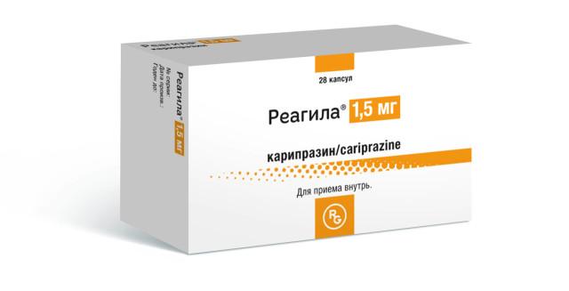 Реагила капсулы 1,5мг №28 купить в Москве по цене от 3558 рублей