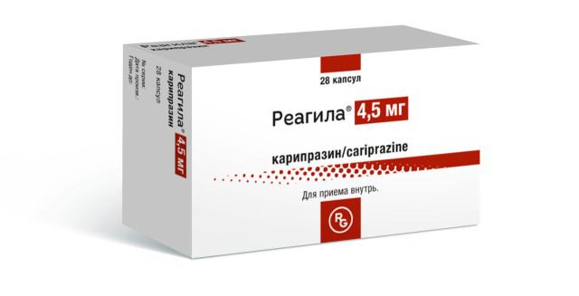 Реагила капсулы 4,5мг №28 купить в Москве по цене от 3452.5 рублей
