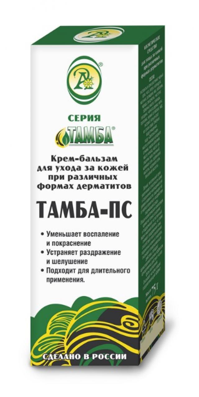 Тамба-ПС крем-бальзам при дерматитах 75мл купить в Москве по цене от 661 рублей