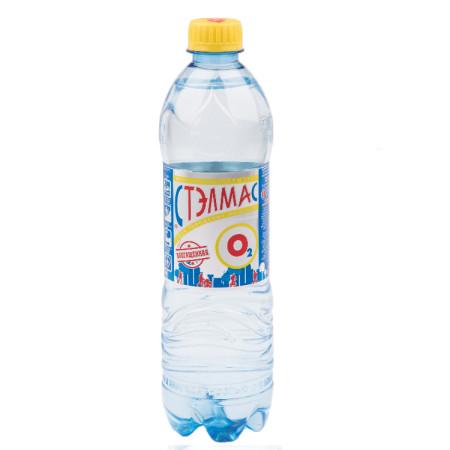 Вода минеральная Стелмас Минерал 0,6л (газ) купить в Москве по цене от 32 рублей