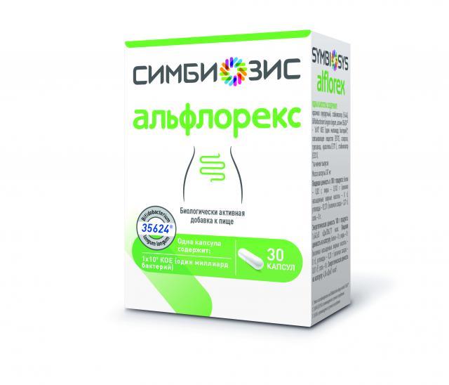 Симбиозис Альфлорекс капсулы 247мг №60 купить в Москве по цене от 0 рублей