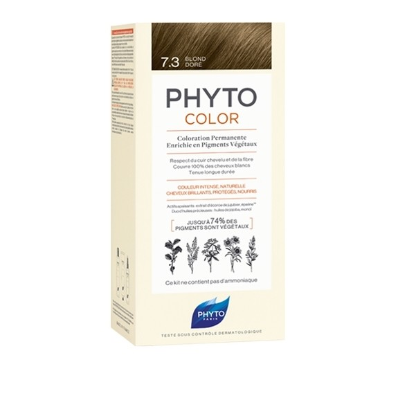 Фитосольба Фитоколор краска для волос т.7.3 золотистый блонд купить в Москве по цене от 1700 рублей