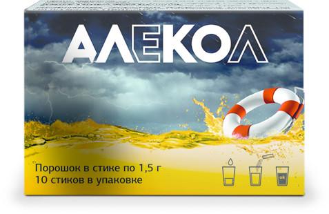 Алекол порошок саше 1,5г №10 купить в Москве по цене от 300 рублей