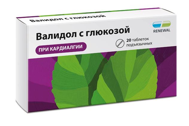 Валидол с глюкозой таблетки 60мг №20 купить в Москве по цене от 75 рублей