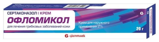 Офломикол крем 2 % 20г купить в Москве по цене от 548 рублей