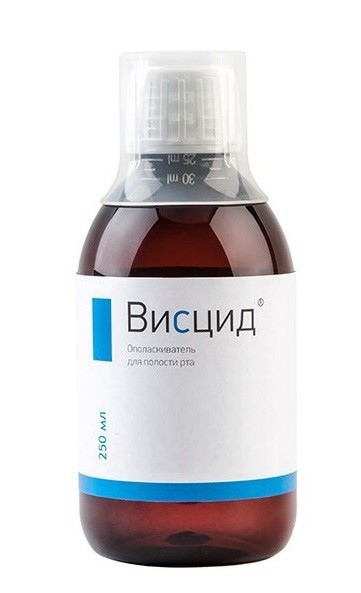Висцид ополаскиватель для полости рта 250мл купить в Москве по цене от 703 рублей