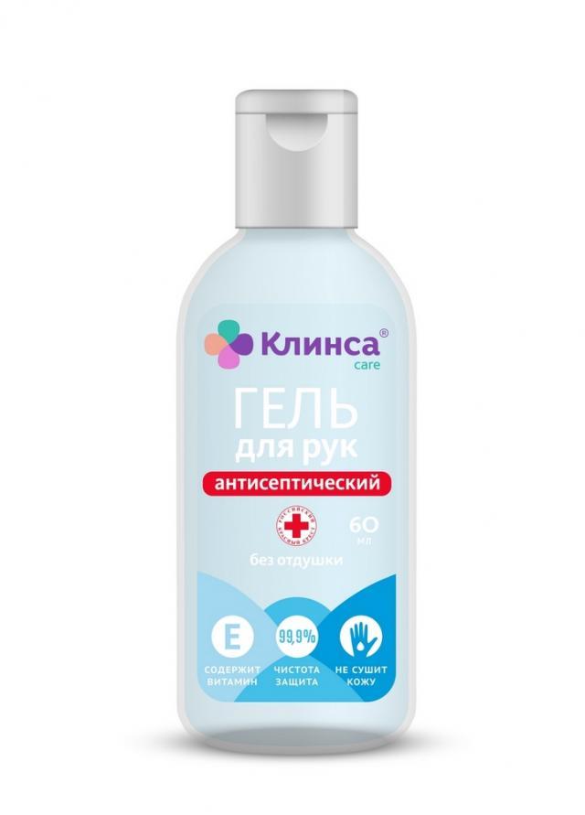 Клинса гель антибактериальный Витамин Е 60мл купить в Москве по цене от 99 рублей