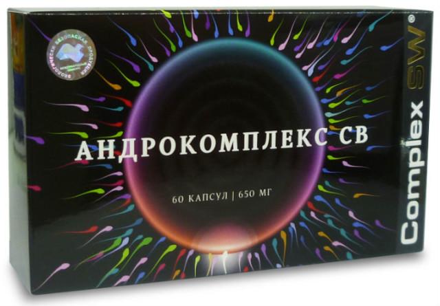 Андрокомплекс СВ капсулы №60 купить в Москве по цене от 3910 рублей