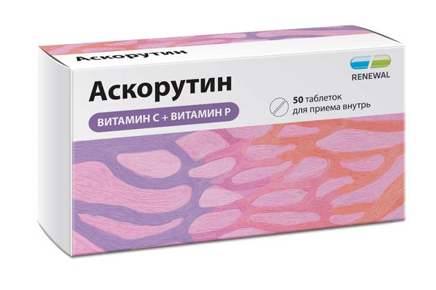 Аскорутин таблетки №50 купить в Москве по цене от 92 рублей