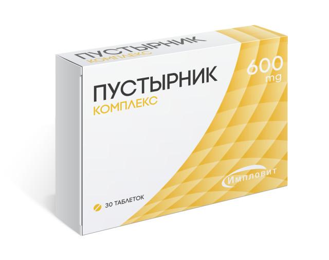 Пустырник Комплекс таблетки 600мг №30 Импловит купить в Москве по цене от 110 рублей
