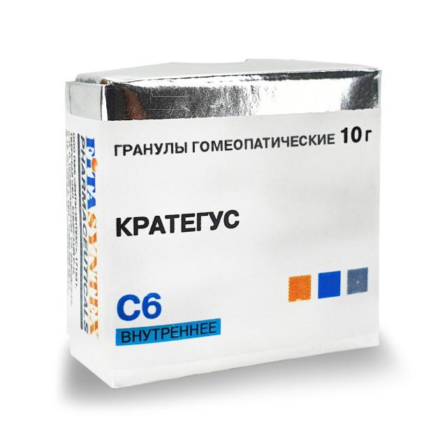 Кратегус С-6 гранулы 10г купить в Москве по цене от 0 рублей