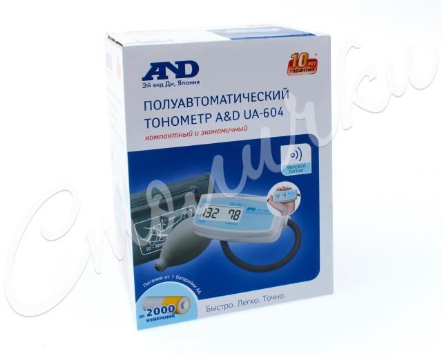 Эй Энд Ди Тонометр полуавтомат UA-604 купить в Москве по цене от 1650 рублей