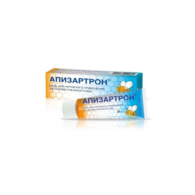Апизартрон мазь 20г купить в Москве по цене от 332 рублей