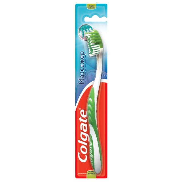 Колгейт зубная щетка Массажер средняя купить в Москве по цене от 153 рублей