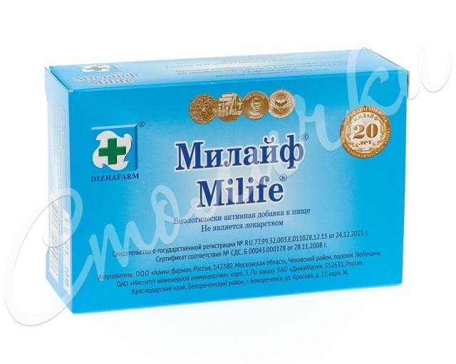 Милайф таблетки №30 купить в Москве по цене от 447 рублей
