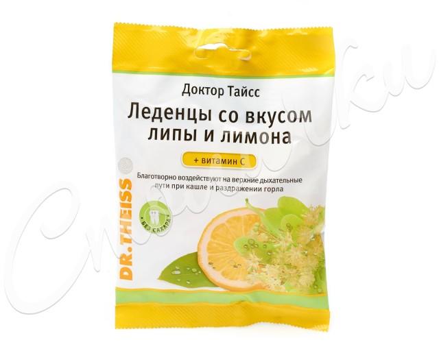 Доктор Тайсс леденцы Липа/лимон/вит. C 50г купить в Москве по цене от 180 рублей