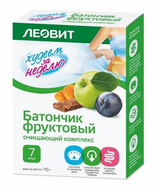 Худеем за неделю батончик очищающий комплекс №7 купить в Москве по цене от 144 рублей