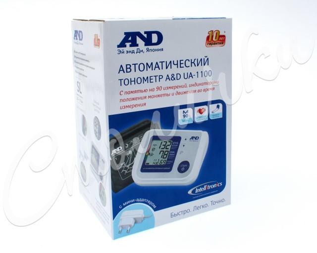 Эй Энд Ди Тонометр автомат UA-1100 купить в Москве по цене от 4030 рублей