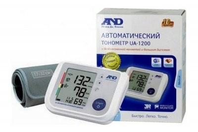 Эй Энд Ди Тонометр автомат UA-1200 купить в Москве по цене от 4640 рублей