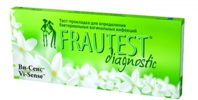 Фраутест тест д/опред. бактер. инфекций купить в Москве по цене от 0 рублей